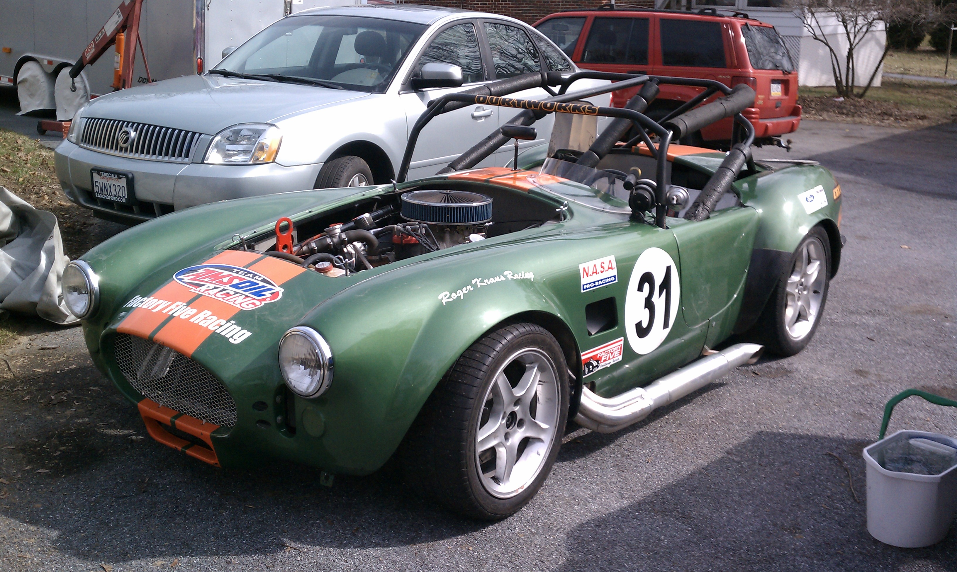 cobra replica, cobra kit car, kit car, kitcar, replica car
